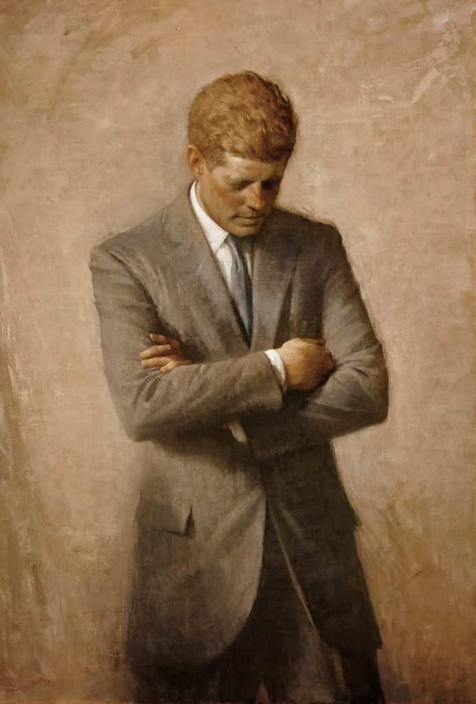 Aaron Shikler | Official Presidential Portrait | Oil Painting on Canvas | 1970