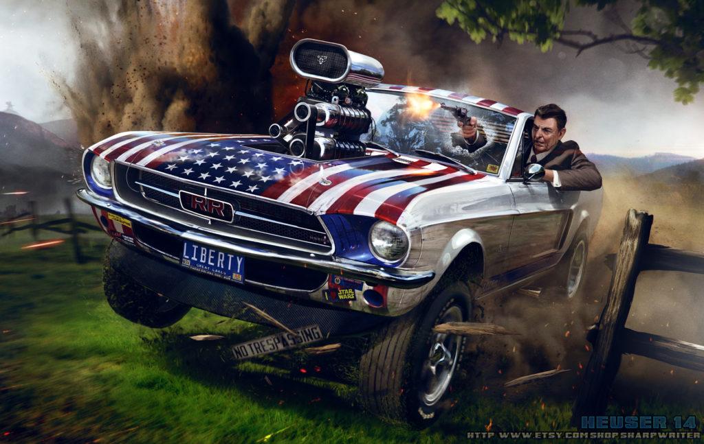 Ronald Reagan | The Liberator | SharpWriter | Jason Heuser | 2014