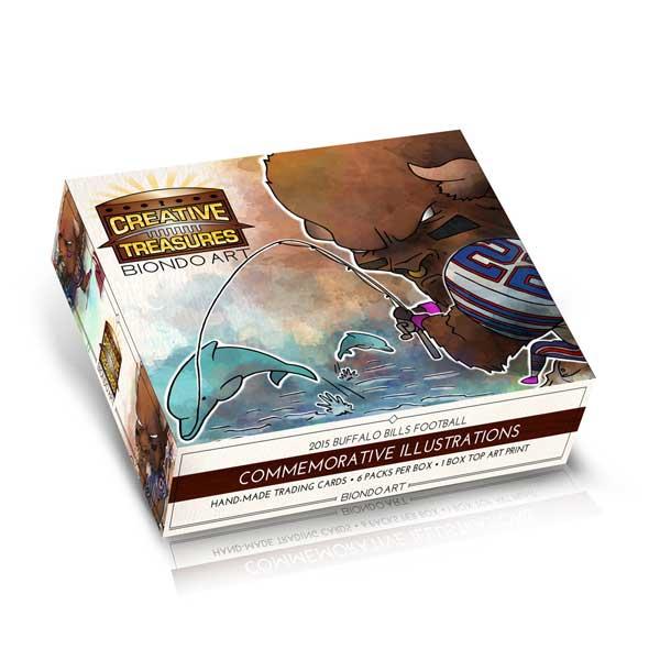 Creative-treasures-masterpieces-booklet-cards-buffalo-bills-billsmafia-biondoart-art