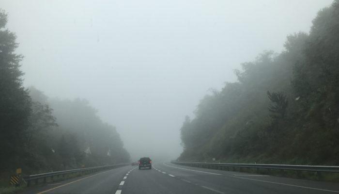 Driving Through Fog in Virginia