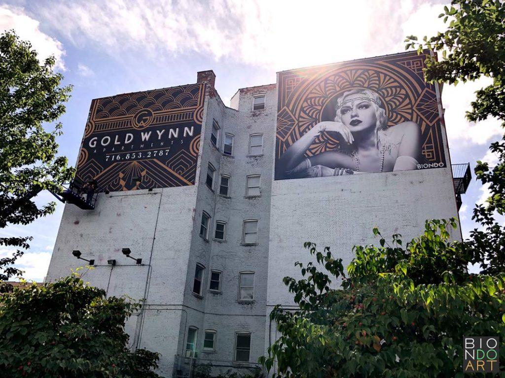 Gold Wynn Murals | Biondo Art