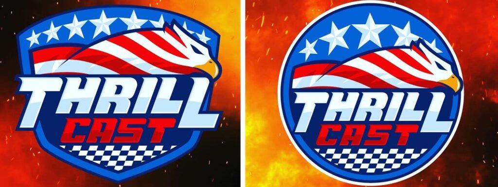 Biondo Art - ThrillCast Logo Branding Design