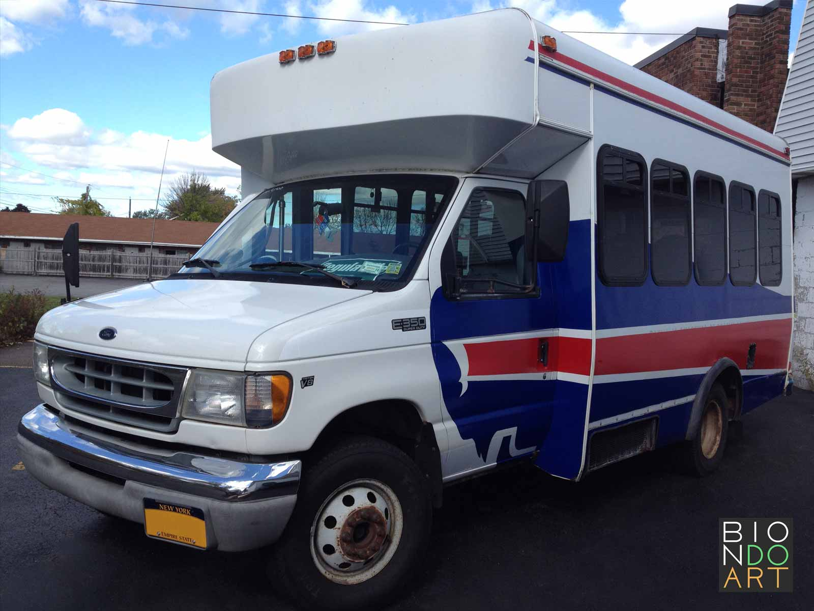 Buffalo Bills Bus