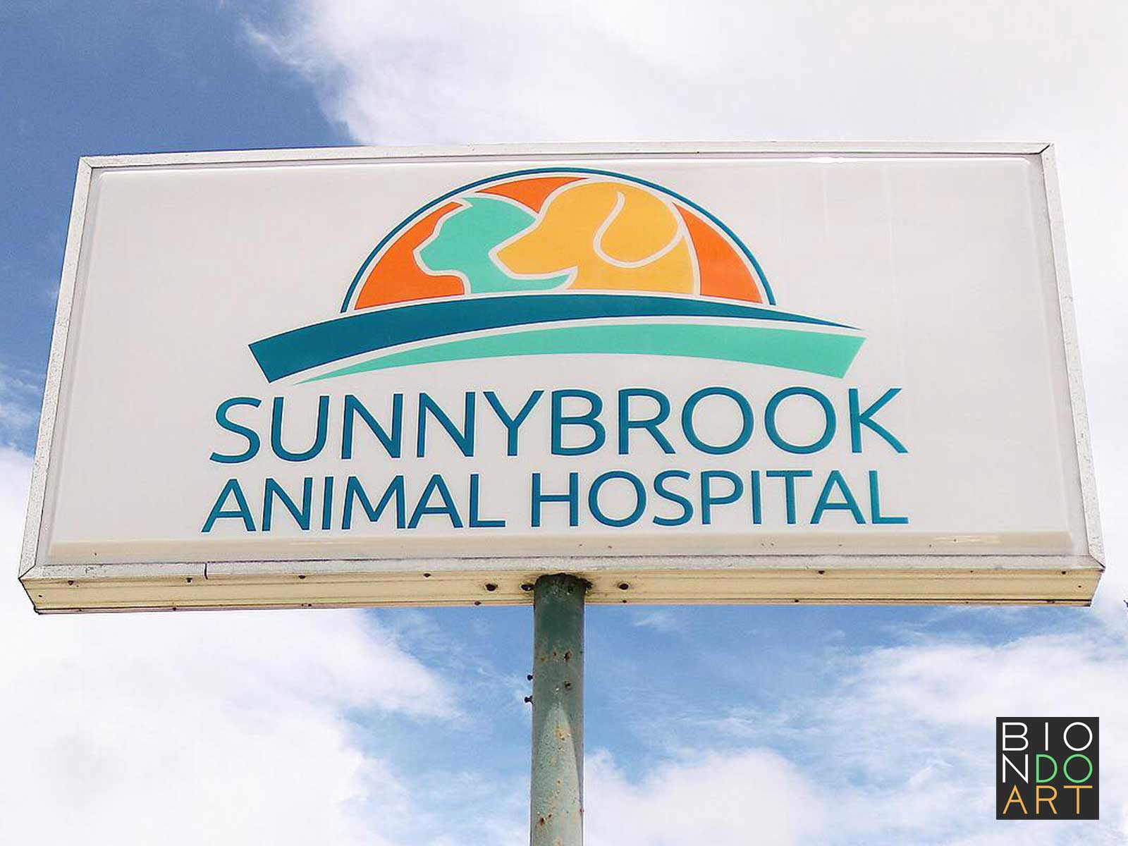 Sunnybrook Animal Hospital Sign