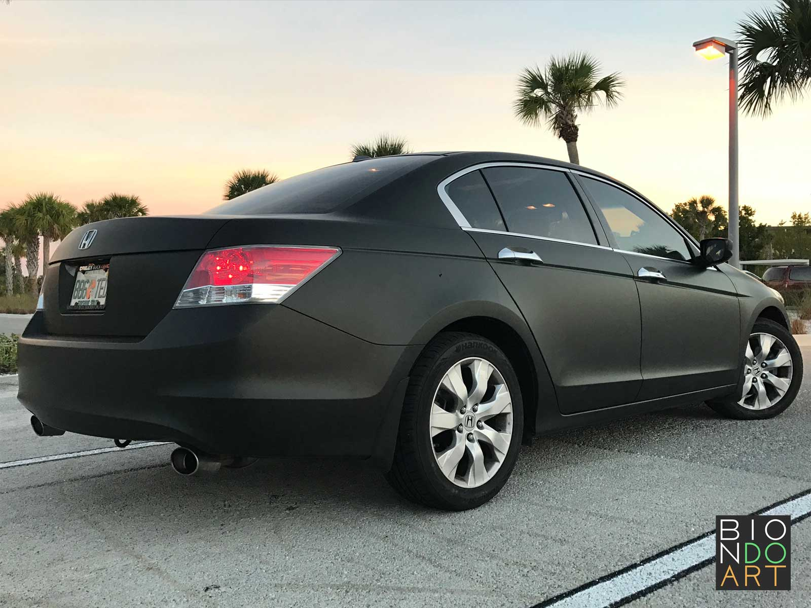 Honda Accord Matte Black